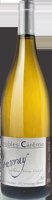 Vouvray demi sec 2014 vin blanc