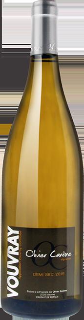 Vouvray demi-sec 2015 vin blanc