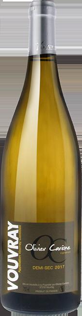 Vouvray demi sec 2017 vin blanc