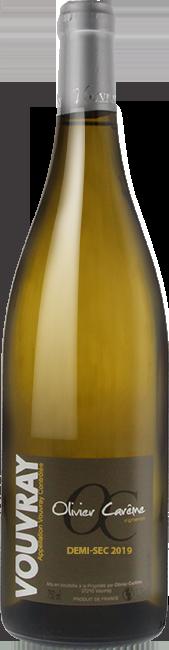 Vouvray demi-sec 2019 vin blanc