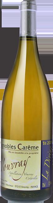 Vouvray moelleux 2015 La divine vin blanc