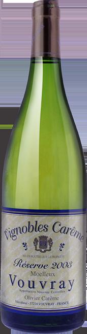 Vouvray tri moelleux 2003 vin blanc