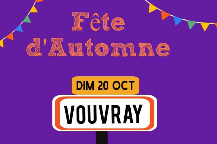 Fête de l'automne de Vouvray, 20 octobre 2019