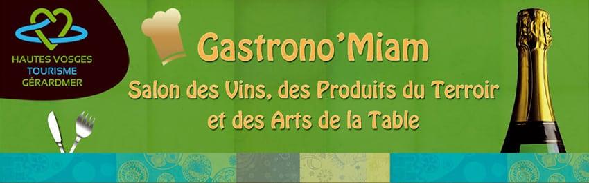 Visuel Gastrono'Miam de Gerardmer