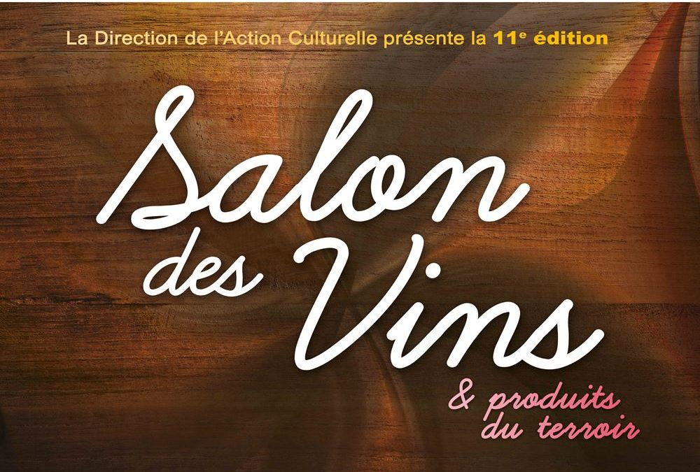 Salon des vin à Draveil, 14 et 15 mars 2020